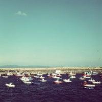 Photo taken at Porto de Fisterra by Xose d. on 8/26/2013