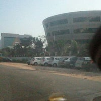 Photo taken at Leela Infopark by krishna k. on 12/5/2012