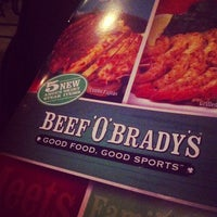 Photo taken at Beef O' Bradys by Kyle C. on 9/20/2012