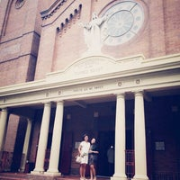 Photo taken at Sacred Heart Cathedral by Maya on 4/13/2014