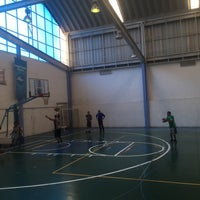 Photo taken at Deportivo Joaquín Capilla by Raidel M. on 5/14/2017