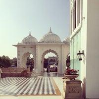 Photo taken at Sheraton Udaipur Palace Resort & Spa by Kris F. on 1/25/2014