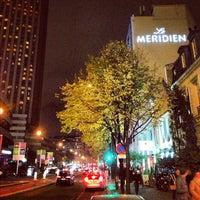 Photo taken at Le Méridien Étoile by Kris F. on 11/13/2012