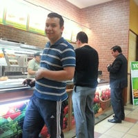 Photo taken at Subway Torre Central by Alex Mauricio P. on 12/28/2012