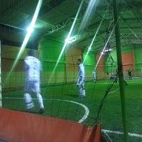 Photo taken at Planeta Gol Club by Alex Mauricio P. on 11/30/2013