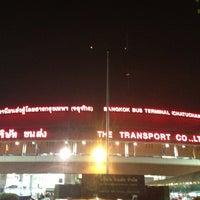 Photo taken at Bangkok Bus Terminal (Chatuchak) by Tons N. on 2/25/2013