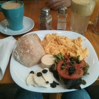 Photo taken at The Traveller Caffé by Melina M. on 5/2/2015