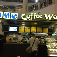Photo taken at Coffee World by GeNieLiCious on 3/24/2013