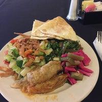Photo taken at Al-Wadi Cafe by Larry J M. on 3/3/2015