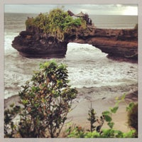 Photo taken at Tanah Lot Temple by Selena C. on 5/24/2013
