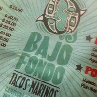 Photo taken at Bajo Fondo by BerriesAndFun on 4/18/2013