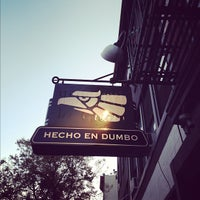 Photo taken at Hecho en Dumbo by Andy S. on 11/25/2012