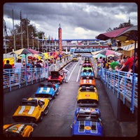 Photo taken at Tomorrowland® Speedway by Chris R. on 2/24/2013