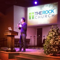 Photo taken at The Rock Church by Lance W. on 12/12/2013