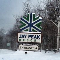 Photo taken at Jay Peak Resort by Andrew C. on 1/4/2013