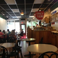 Photo taken at Collegetown Bagels by Susan S. on 7/1/2013