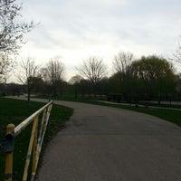 Photo taken at Winnemac Park by Ryan B. on 4/30/2013