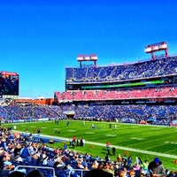 Photo taken at Nissan Stadium by Ashley E. on 10/28/2012
