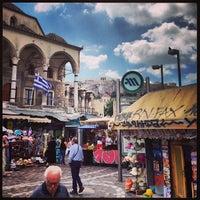Photo taken at Athens Flea Market by Jeremy B. on 7/13/2013