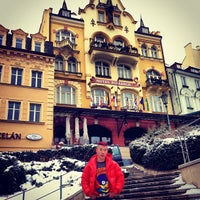 Photo taken at Hotel Romance Puškin by Anto C. on 2/13/2013