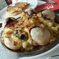 Photo taken at Monte's Restaurant Bar & Grill by Jonnwong on 1/14/2014