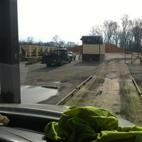 Photo taken at Ferbee asphalt plant by Josh D. on 2/14/2013
