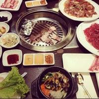 Photo taken at Han Sang Korean Charcoal BBQ by Jocelyn L. on 3/3/2013