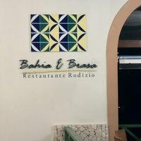 Photo taken at Restaurante Bahia & Brasa Grand Palladium by Sebas A. on 4/6/2015
