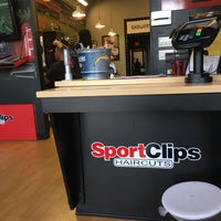 Photo taken at Sport Clips by Zach S. on 12/5/2016