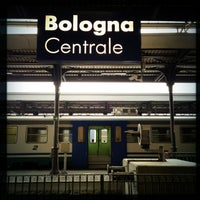Photo taken at Stazione Bologna Centrale by rob z. on 3/29/2013