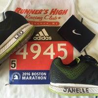Photo taken at Boston Marathon Start Line by rob z. on 4/18/2016