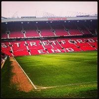 Photo taken at Old Trafford by Yaniv Y. on 3/6/2013