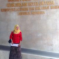 Photo taken at Kementerian Hukum dan HAM RI by Saraswati M. on 3/24/2016