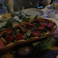 Photo taken at Karina Balık Restaurant by Sahin S. on 11/1/2012