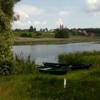 Photo taken at Aukštadvaris by velo-city.lt V. on 5/28/2016