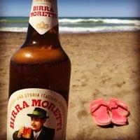 Photo taken at Etruria beach by Daniel on 8/22/2016