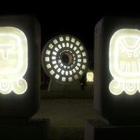 Photo taken at Parque del Centro Ceremonial Maya by Daniel on 3/10/2013