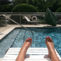 Photo taken at Fairfield Inn Pool by Anne R. on 7/21/2013
