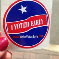 Photo taken at Wake County Board Of Elections by Katy F. on 10/27/2014