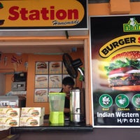 Photo taken at Burger Station by Oh A. on 9/13/2015