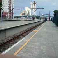 Photo taken at Estação São Caetano do Sul (CPTM) by Wellington D. on 12/13/2012