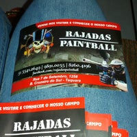 Photo taken at Rajadas paintball by Thais R. on 11/25/2014