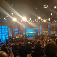 Photo taken at The Ellen DeGeneres Show by Cynthia O. on 11/8/2012