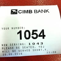 Photo taken at CIMB Bank by Azhar A. on 6/20/2016