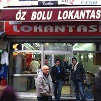Photo taken at Öz Bolu Lokantası by Daniel G. on 12/10/2012