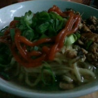 Photo taken at Mie Ayam Ateng by DJ Lisa D. on 3/1/2014