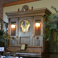 Photo taken at Orchestria Palm Court Restaurant by Max G. on 5/25/2014
