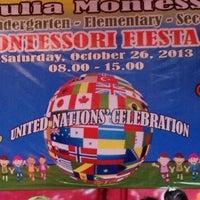 Photo taken at Tunas Mulia Montessori Gading Serpong by Melie on 10/26/2013