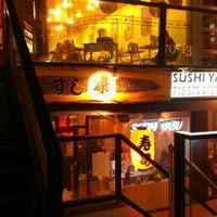 Photo taken at Sushi Yasu by t2yx on 1/13/2013