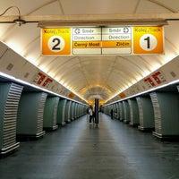Photo taken at Metro =B= Karlovo náměstí by Roman L. on 6/10/2017